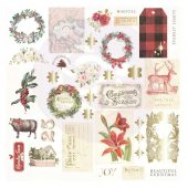 Christmas In The Country Cardstock Ephemera