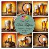 Dixi Craft Dixi Toppers Beer 9x9cm