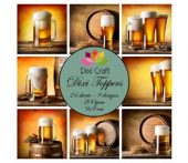 Dixi Craft Dixi Toppers Beer 9x9cm
