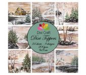 Winter Lake -Dixi Craft Dixi Toppers 9x9cm