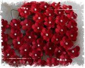 Søte blomster - Røde