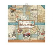 Stamperia - Around the World - Paper Pad 8 x 8""