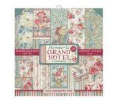 """Stamperia - Grand Hotel - Paper Pad 12 x 12"""""""