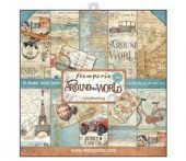 Stamperia -Around the World  - 12x12