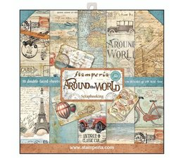 Stamperia -Around the World  - 12x12
