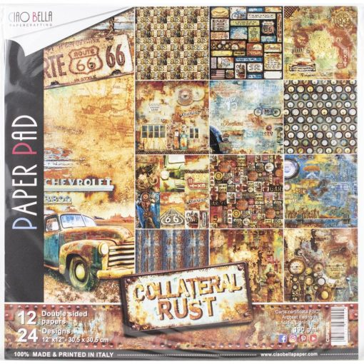 Ciao Bella- Collateral Rust, 12 Designs/2 Each