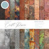 Metal Textures - Craft Consortium - 6 x 6