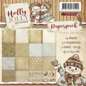 Holly Jolly - 6 x 6