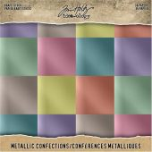 "Confections - 8""X8"" - Idea-Ology Paper Stash Kraft Metallic Paper"