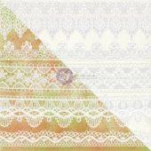 """White Lace - Elementals Resist Canvas 12""""X12"""""""