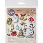 Tattered Christmas - Sizzix Framelits Dies By Tim Holtz 12/Pkg