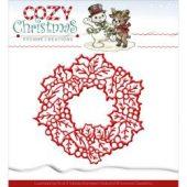 Swirl Frame, Charming Christmas