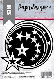 Stjerne ramme 1 - Papirdesign