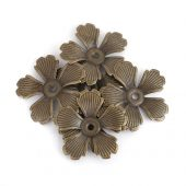 Flate blomster2 -Bronse