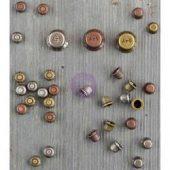 Mini Knobs - Finnabair Mechanicals Metal Embellishments