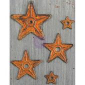 Barn Stars - Finnabair Mechanicals Metal Embellishments