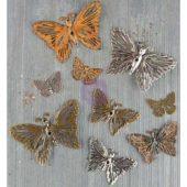 Grungy Butterflies - Finnabair Mechanicals Metal Embellishments