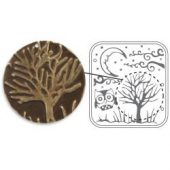 "Moonlit Night By Vintaj - Sizzix DecoEmboss Die 2.375""X2.5"""