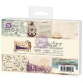 """French Riviera Journaling Cards 4""""X6"""" 45/Pkg"""