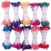 Heartfelt Creations Pearl Stamens Small 10/Pkg Bright