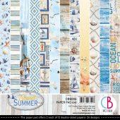 Sound Of Summer, 12 Designs/2 Each - 6 x 6