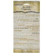 Clippings - Tim Holtz - IdeaOlogy - Sticker book