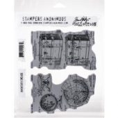 Inventor 9 - Tim Holtz Collection - Cling Stamps