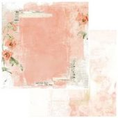"""Love Letters - Vintage Artistry Coral Double-Sided Cardstock 12""""X12"""""""