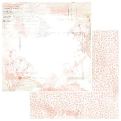 """Fleur - Vintage Artistry Coral Double-Sided Cardstock 12""""X12"""""""