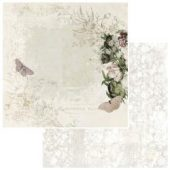 """Wallflower - Vintage Artistry Natural Double-Sided Cardstock 12""""X12"""""""