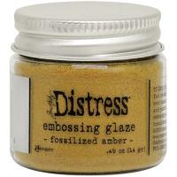 Tim Holtz - Distress Embossing Glaze - Fossilized Amber