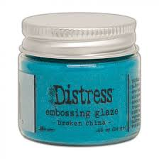 Tim Holtz - Distress Embossing Glaze - Broken China
