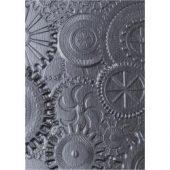 Tim Holtz Alterations - Texture Fades Embossig Folder - Mechanics 3D