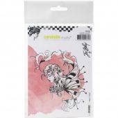 Sketch Fairy - arabelle Studio Cling Stamp A6 By Jen Bishop