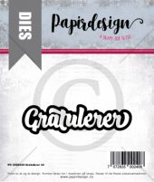 PAPIRDESIGN - DIES - GRATULERER 14 - PD 1900240