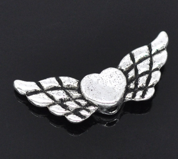 hjerte med vinger- mindre