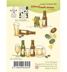 LeCrea - Clear stamps - Beer