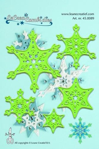 LeCrea - Lea'bilitie Snow crystal cut and embossing die