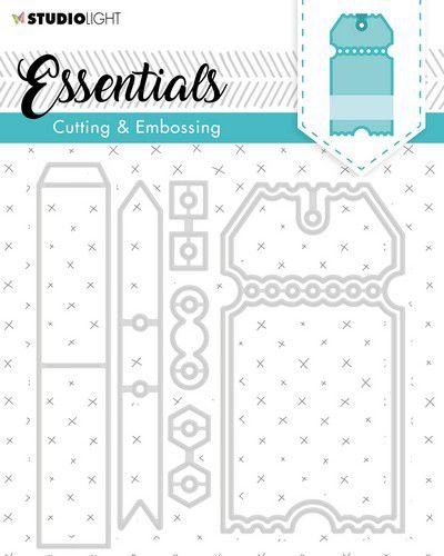 Studio Light Embossing Die Cut Essentials no.276 STENCILSL276