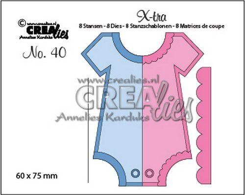 Crealies X-tra no. 40 Onesie (Medium) CLX-tra40