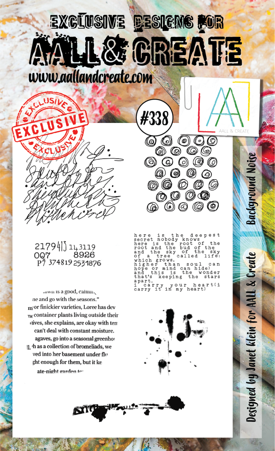 All&Create - #338 - A6 STAMPS