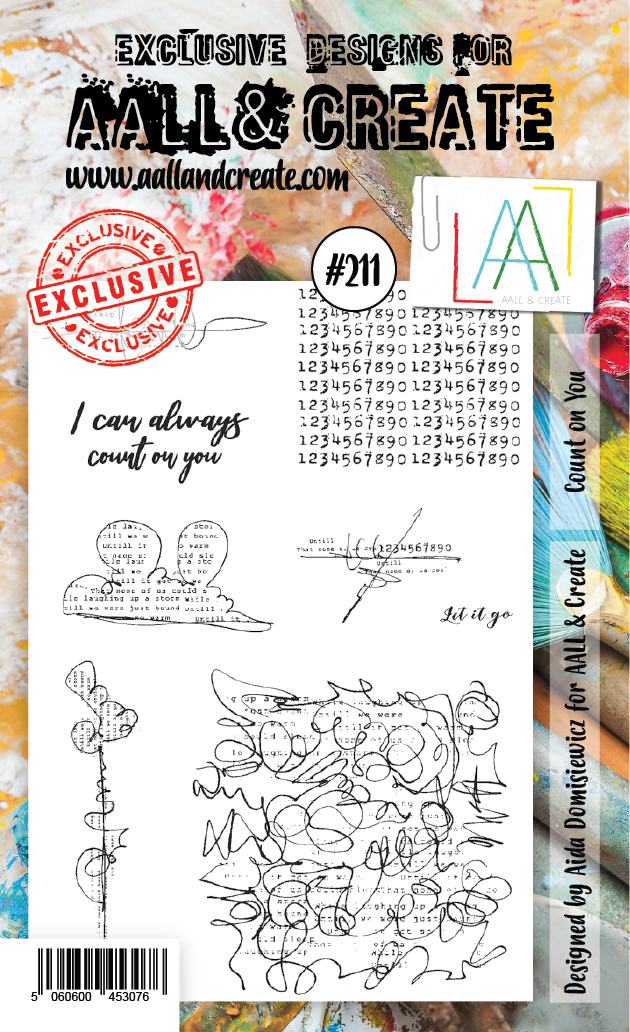 All&Create - #211 - A6 STAMP - Count on you