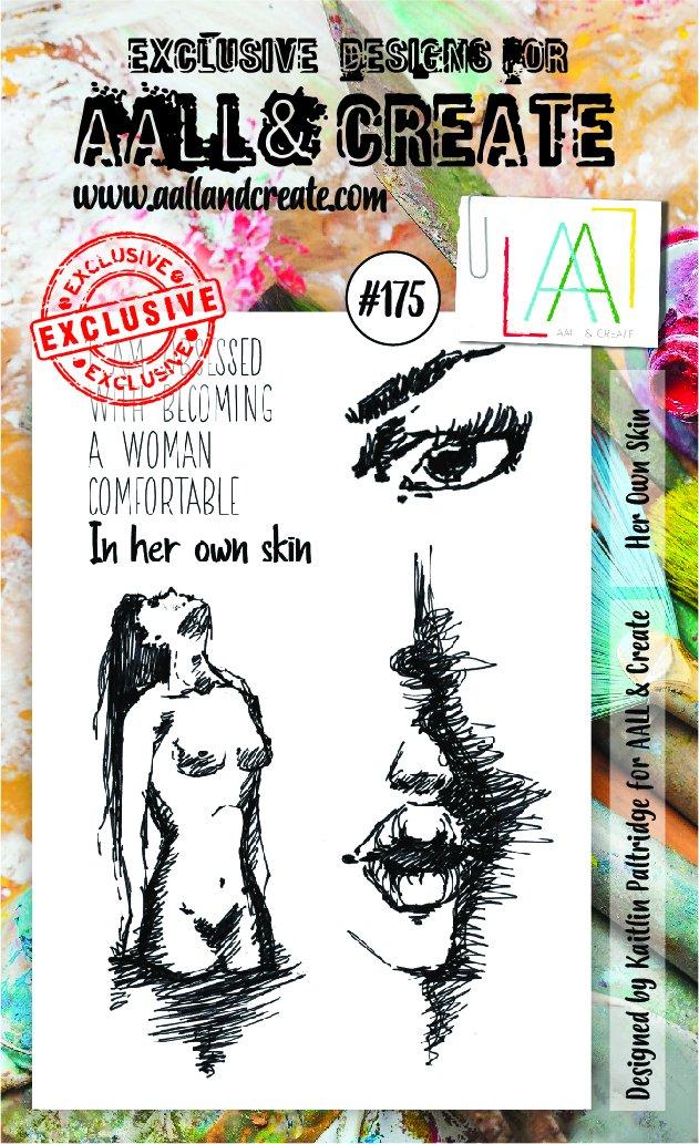 All&Create - #175 - A6 STAMP - Her own skin