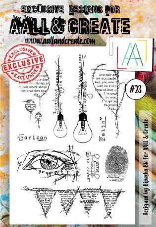 All&Create - #23 - A6 STAMP -