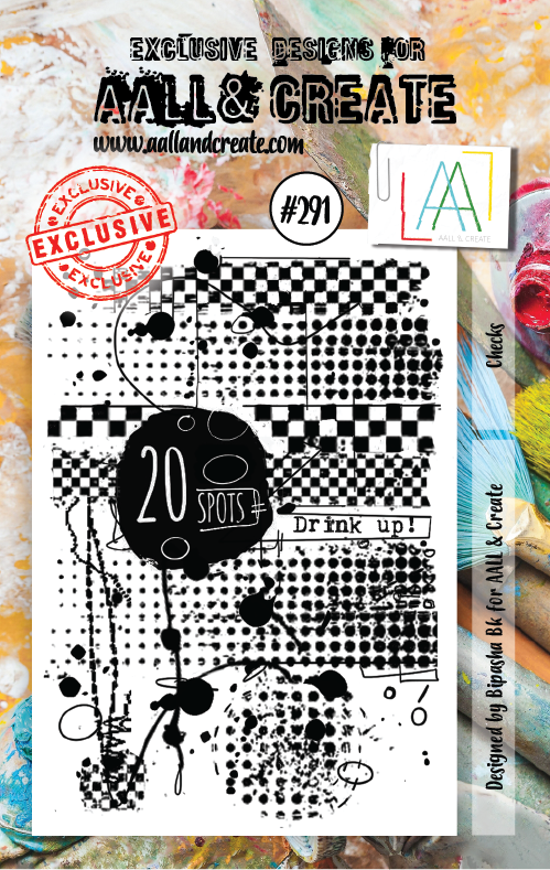 All&Create - #291 - A7 STAMPS - Checks