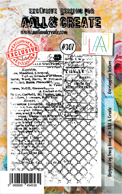 All&Create - #307 - A7 STAMPS - Overlapping Texture