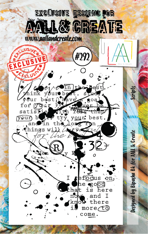 All&Create - #292 - A7 STAMPS - Scripts