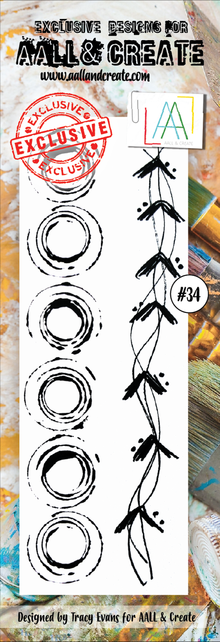 All&Create - #34 - BORDER STAMPS