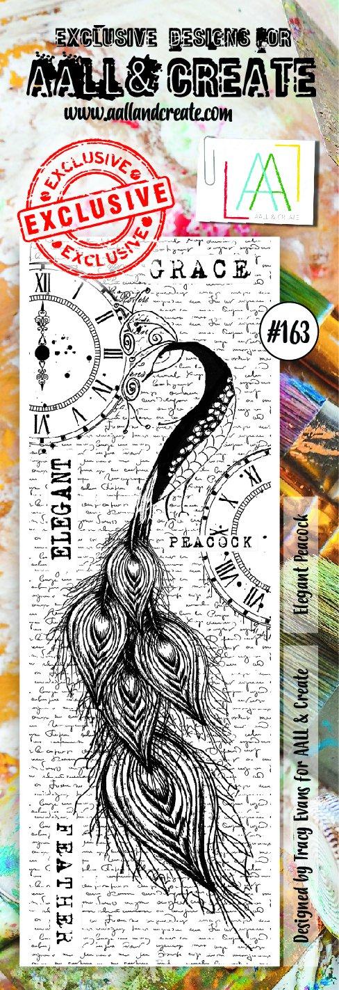 Aall&Create - #163 - Elegant Peacock