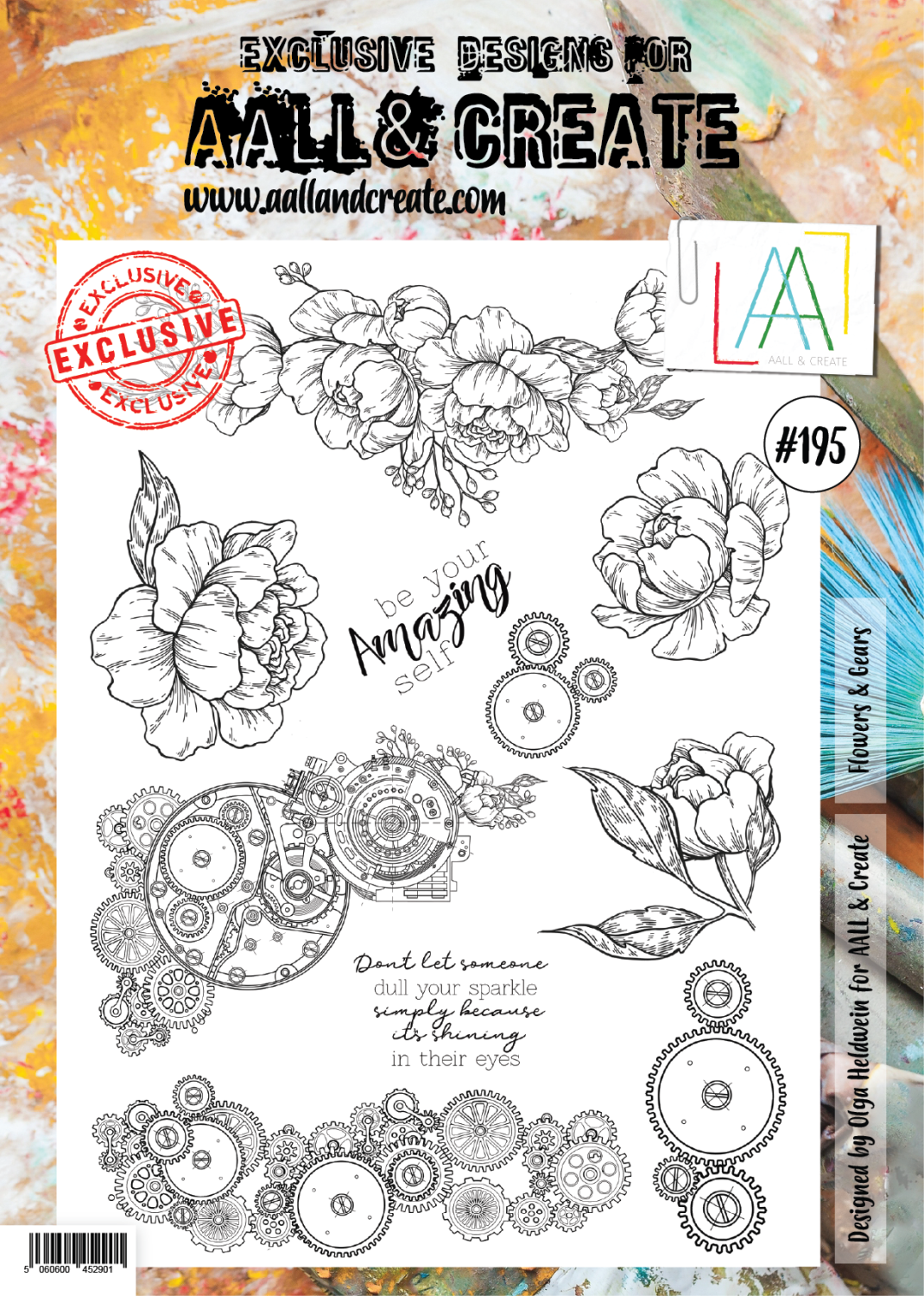 Aall&Create - #195 - Flowers & Gear - A4
